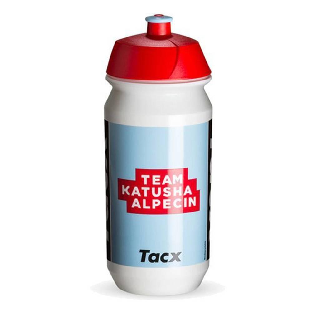 Nutrend Športová fľaša Nutrend Tacx Bidon 2019 500 ml biela so svetlo modrou potlačou