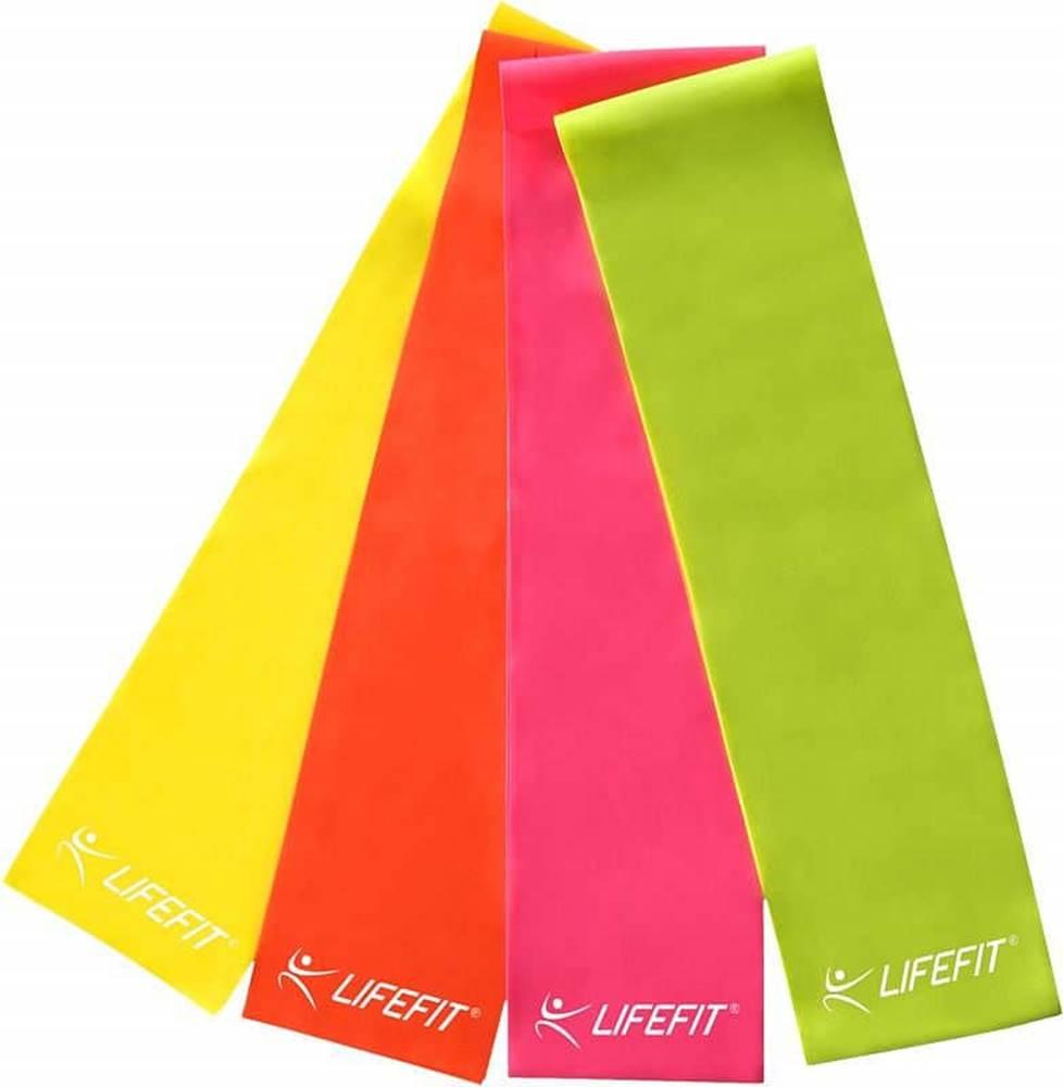 Lifefit Posilovací guma LIFEFIT FLEXBAND 0,65, červená