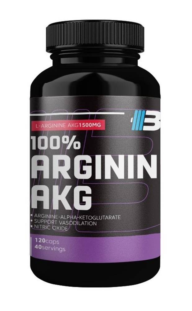 Body Nutrition 100% Arginin AKG - Body Nutrition 120 kaps.