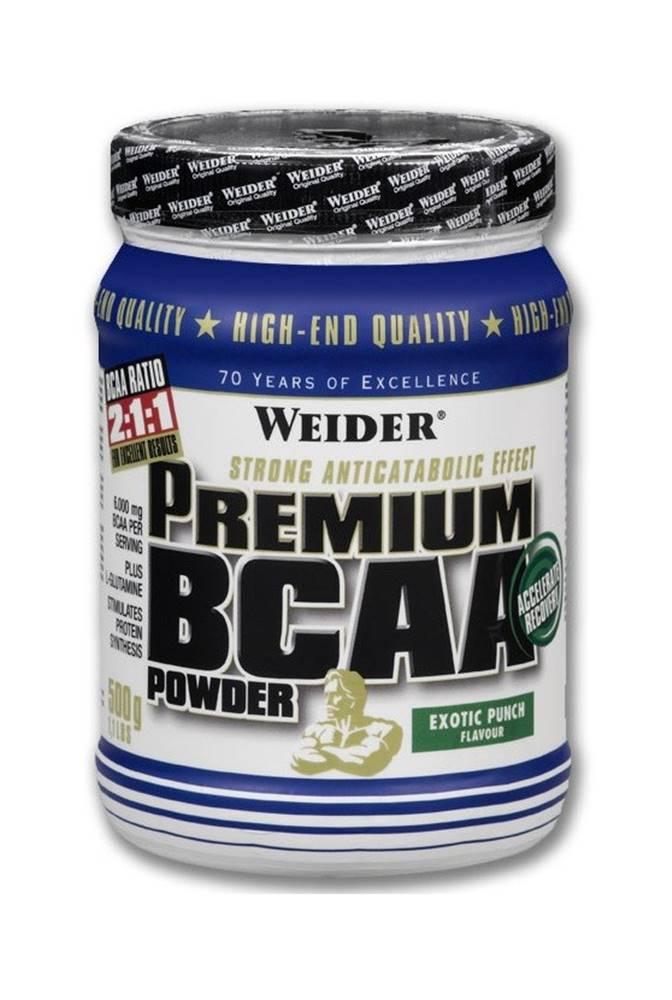 Weider Weider Premium BCAA Powder 500 g variant: exotický punč