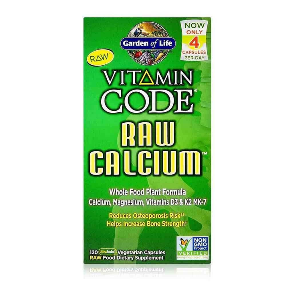 Garden of life Vitamin Code RAW Vápník 120 kapsúl