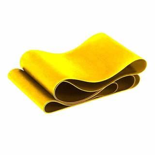 Odporová aerobic guma SEDCO 104x15 cm - 0.35 mm - Žlutá