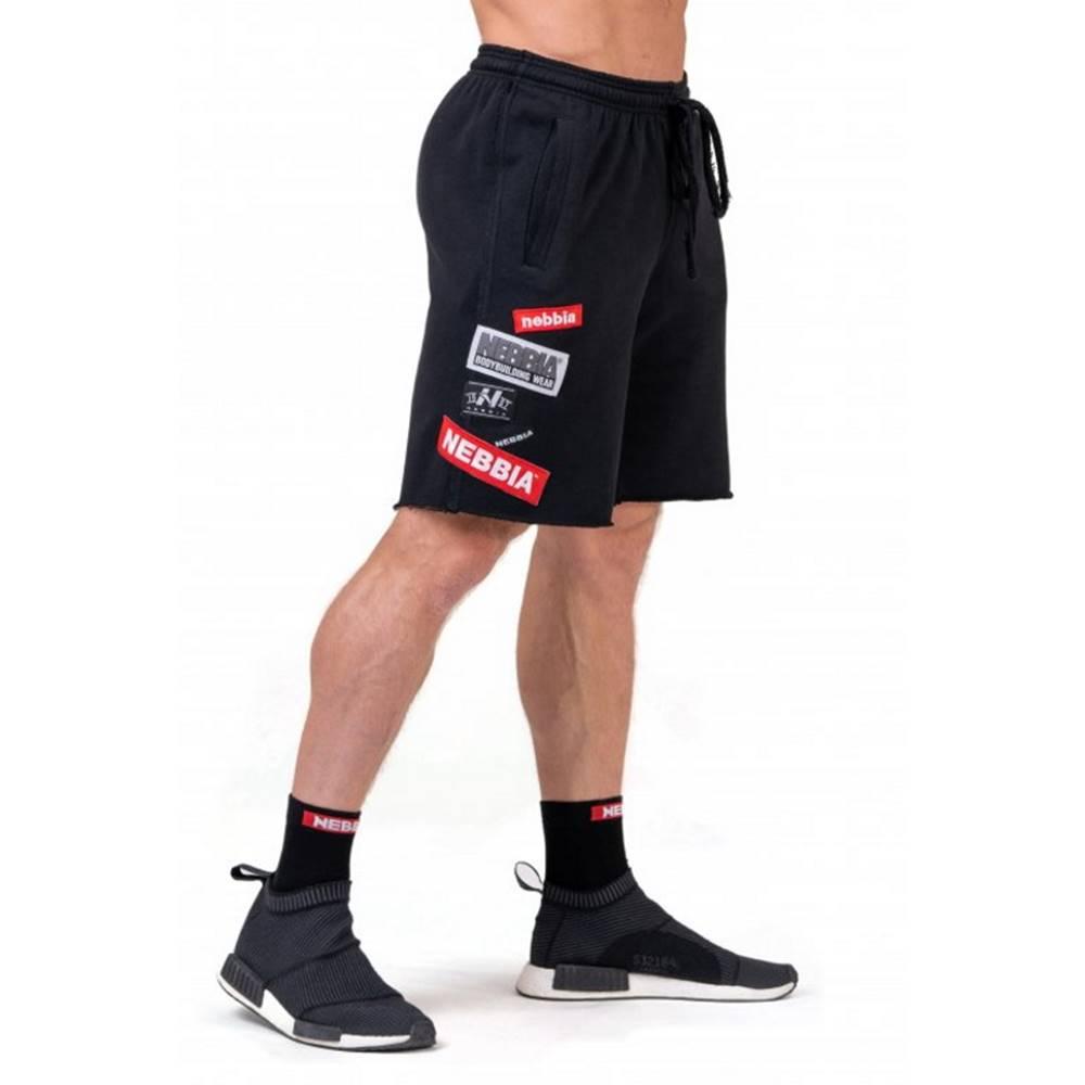 Nebbia Pánske šortky Nebbia Limitless BOYS shorts 178 Black - M