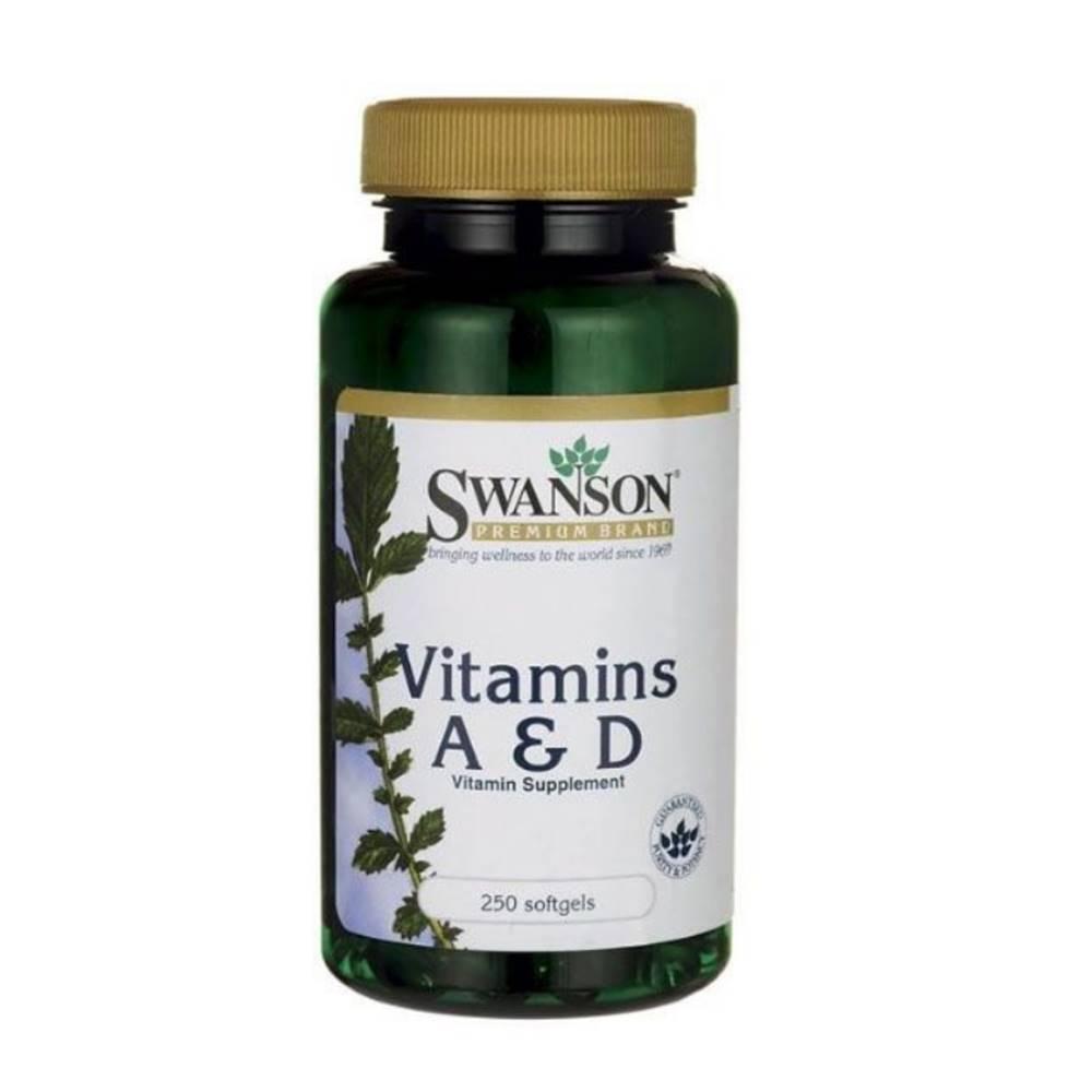 Swanson Vitamín A & D 250 k...