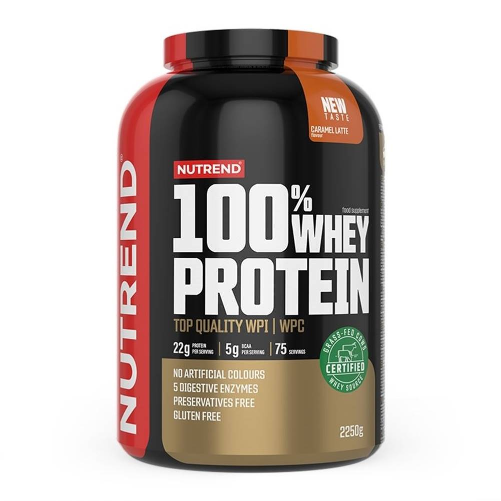 Nutrend 100% Whey Protein - Nutrend 2250 g  Chocolate+Coconut