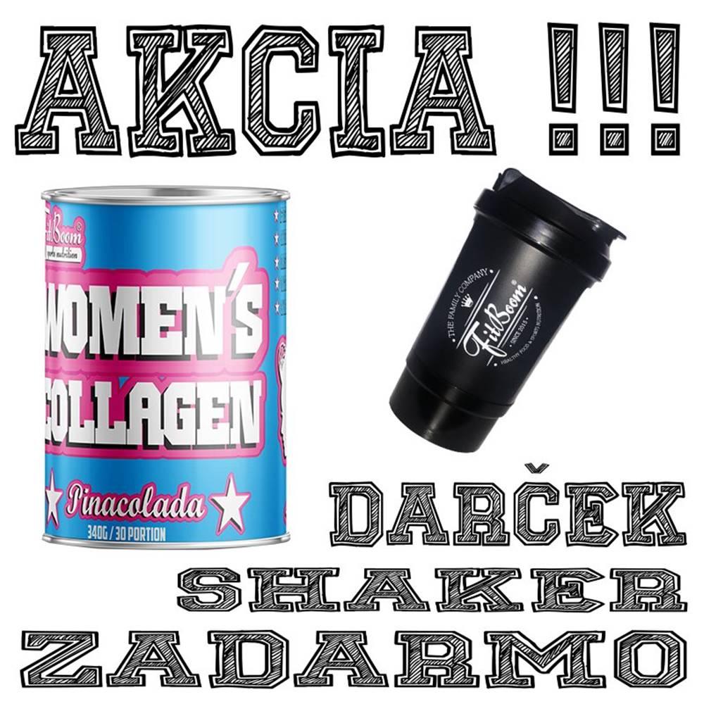 FitBoom Akcia: Womens Collagen + Šejker Zadarmo - FitBoom 340 g Lemonade
