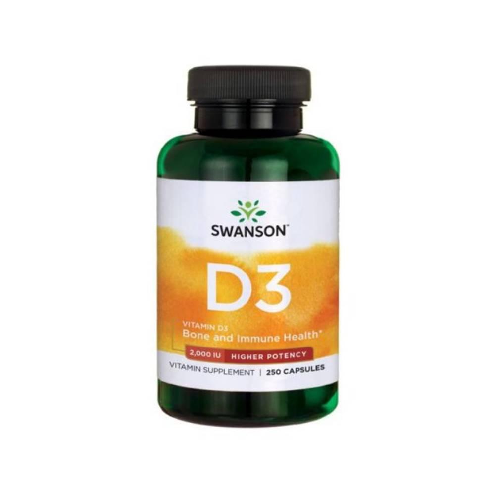 Swanson Vitamín D3 2000 IU ...