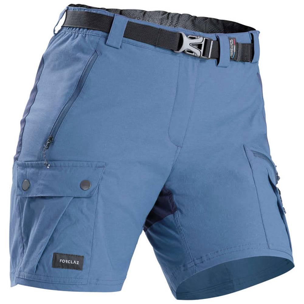 FORCLAZ FORCLAZ Dámske šortky Trek 500 Modré