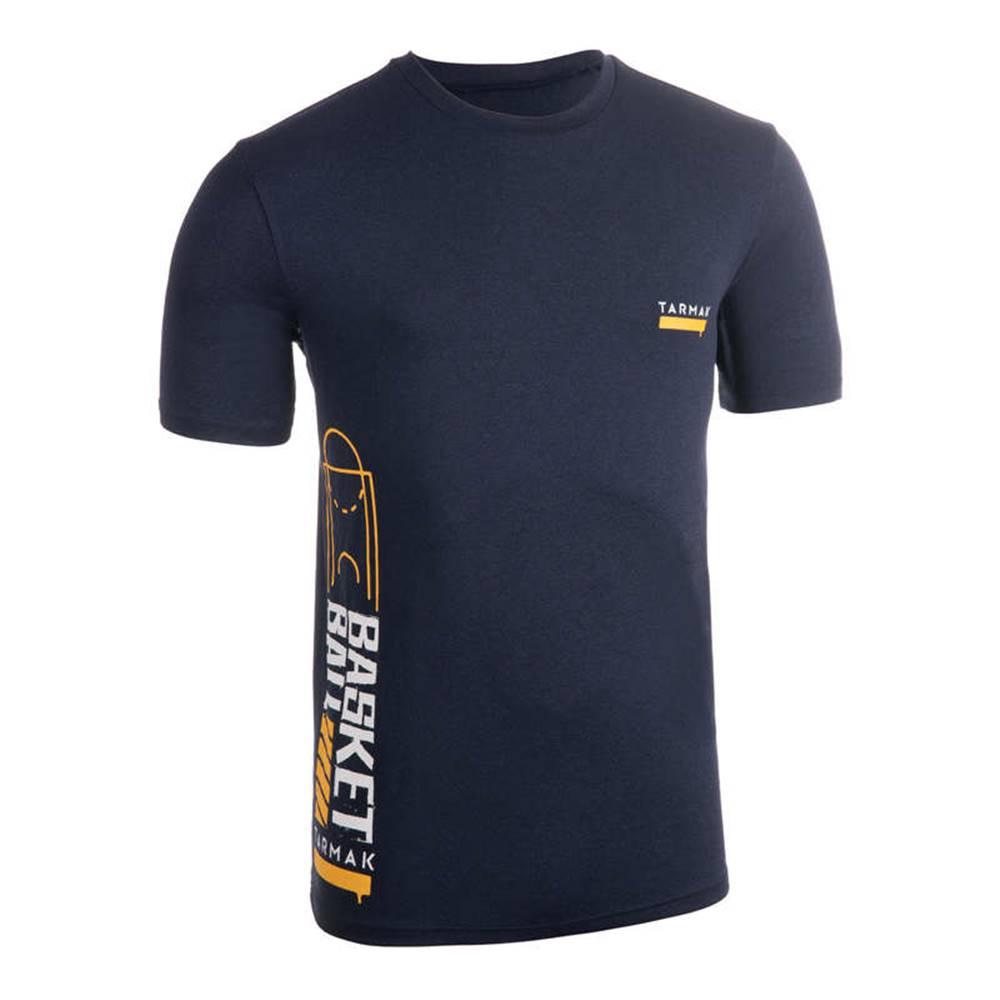 TARMAK TARMAK Pánske Tričko Ts500 Modré