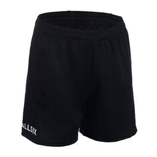 ALLSIX šortky Vsh100 čierne