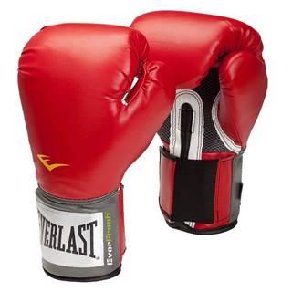 Boxerské rukavice Everlast Pro Style 2100 Training Gloves Farba červená, Veľkosť S (10oz)