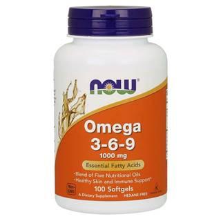 NOW Foods Omega 3-6-9 1000 mg 250 kaps.