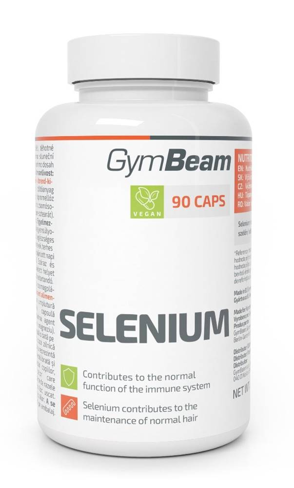 GymBeam Selenium - GymBeam 90 kaps.
