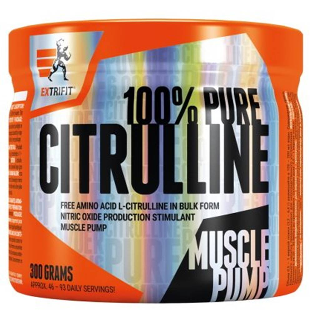 Extrifit Citrulline 100 % Pure Powder - Extrifit 300 g Natural
