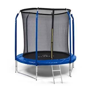 Trampolína KLARFIT Jumpstarter 250 cm modrá