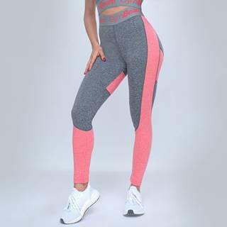 GymBeam Dámske legíny Ultrafit Heather Pink  XS