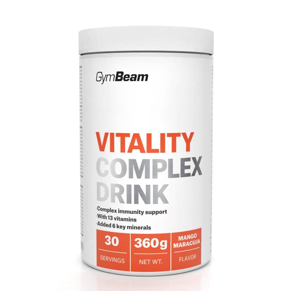 GymBeam GymBeam Vitality Complex Drink 360 g zelené jablko