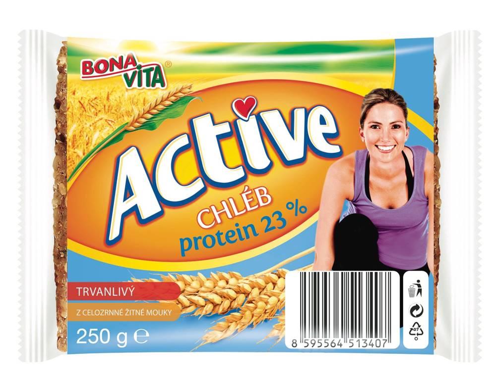 Bona Vita Bona Vita Trvanlivy chlieb Active protein 23% 250 g