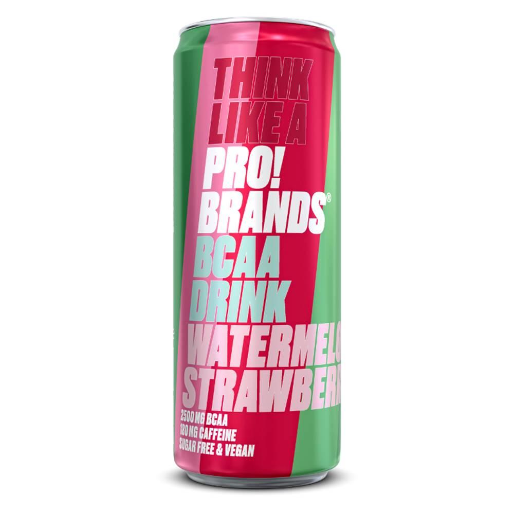 PRO!BRANDS ProBrands BCAA Drink 330 ml jahodová malina