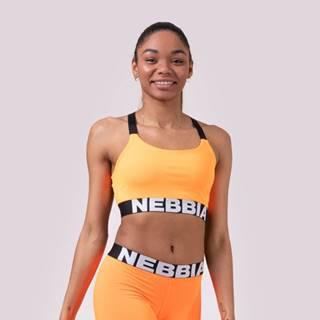 NEBBIA Športová podprsenka Lift Hero Sports Mini Orange  S