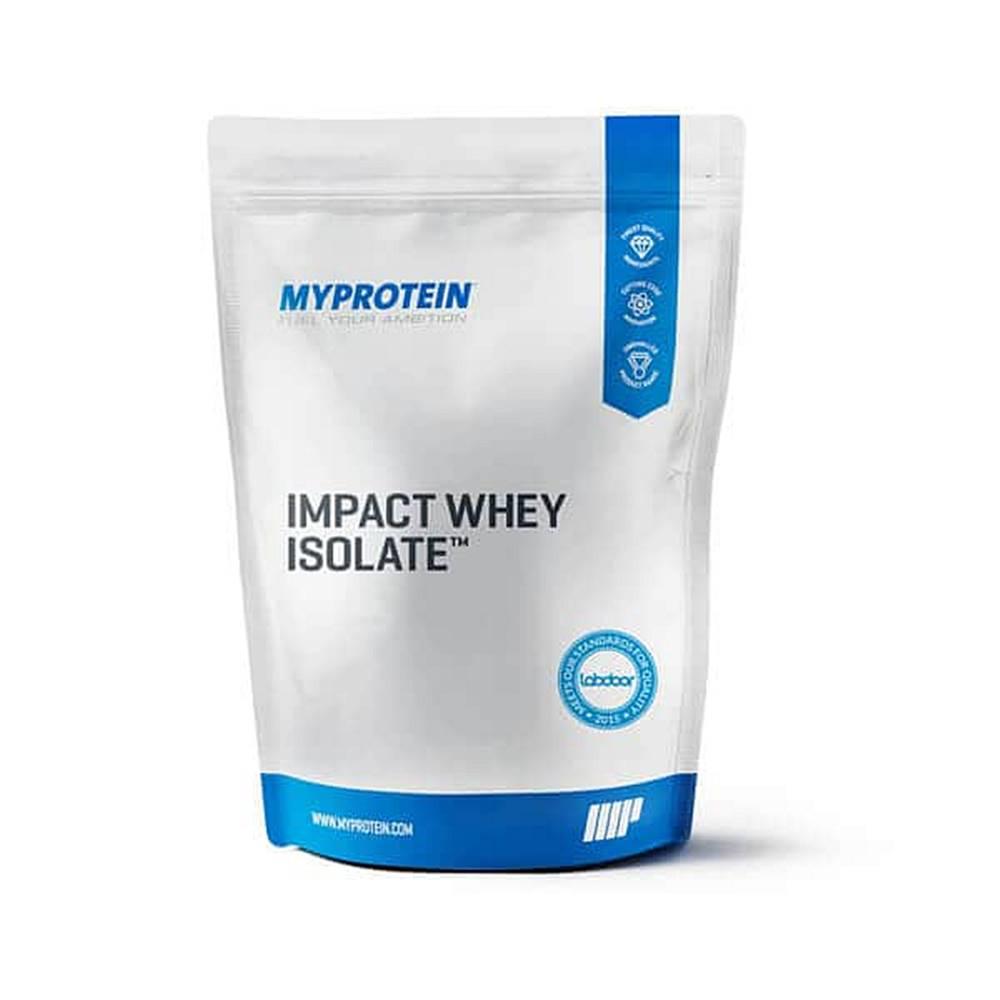 MyProtein MyProtein Impact Whey Isolate Hmotnost: 2500g, Příchutě: Vanilka