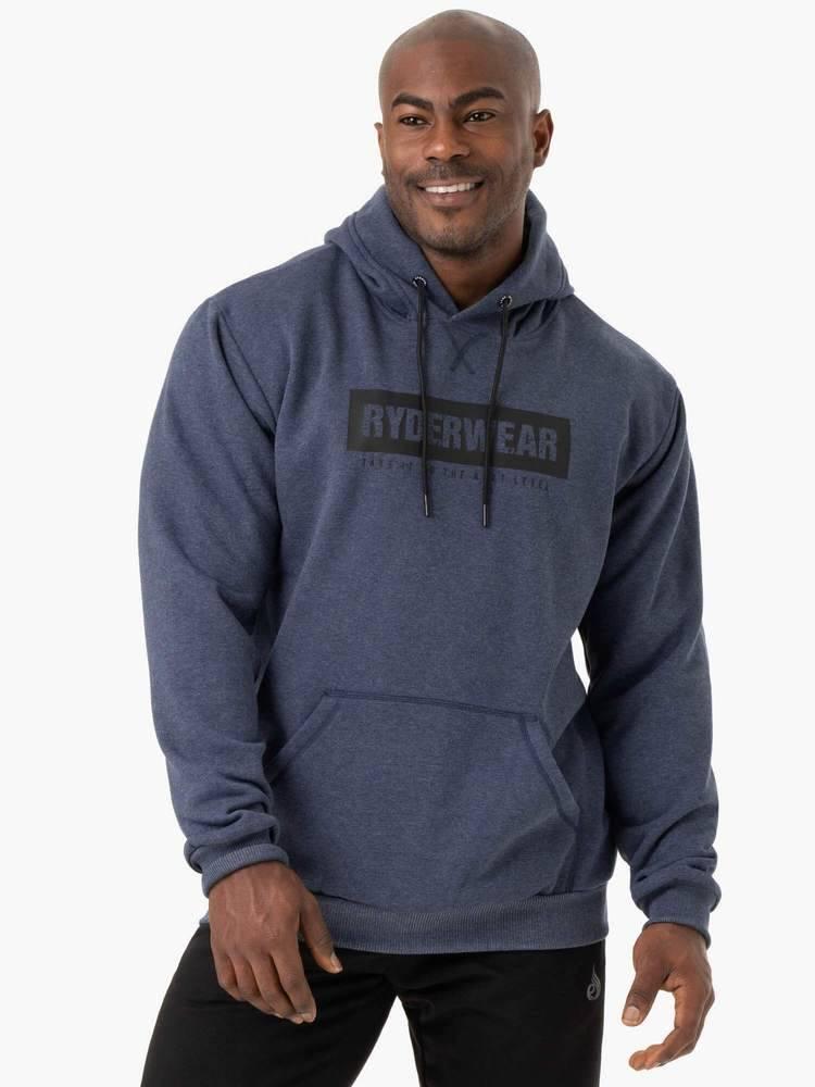 Ryderwear Ryderwear Pánska mikina Iron Navy Blue  S