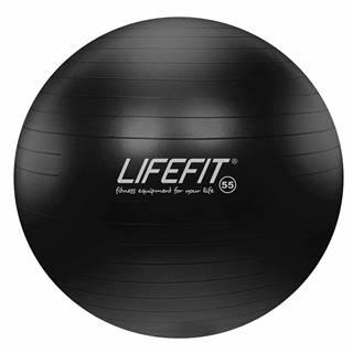 Gymnastický míč LIFEFIT ANTI-BURST 55 cm, černý