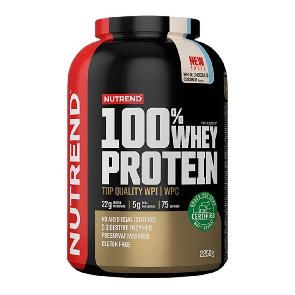 Nutrend Nutrend 100% Whey Protein 2250 g jahoda
