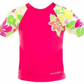 Flower tričko s UV ochranou Velikost (obuv): vel. 4