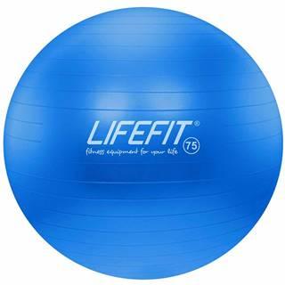 Gymnastický míč LIFEFIT ANTI-BURST 75 cm, modrý