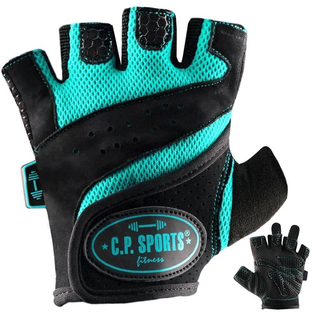 C.P. Sports C.P. Sports Fitness rukavice tyrkysové  XS