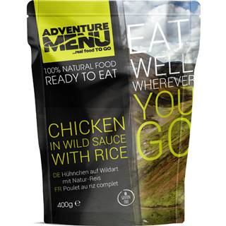 Adventure Menu Kuracie na divoko s ryžou 400 g