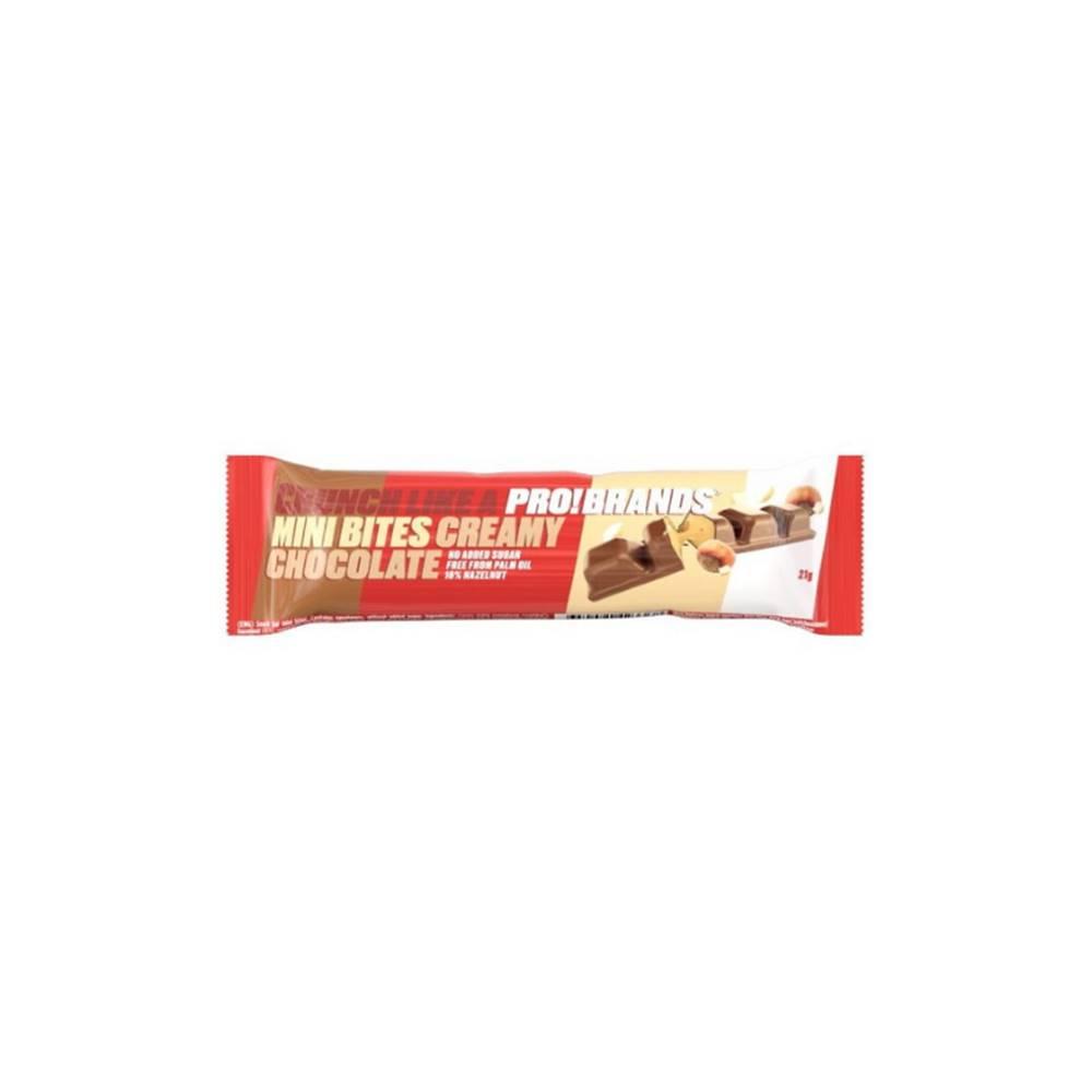 PRO!BRANDS PRO!BRANDS MINI BITES Protein bar 21 g čokoládový krém