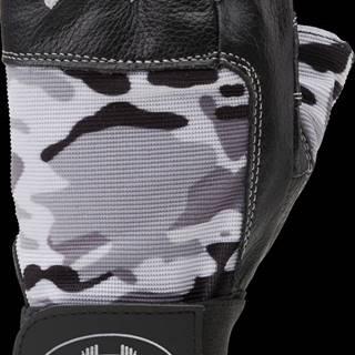C.P. Sports Fitness rukavice kožené Camo  S