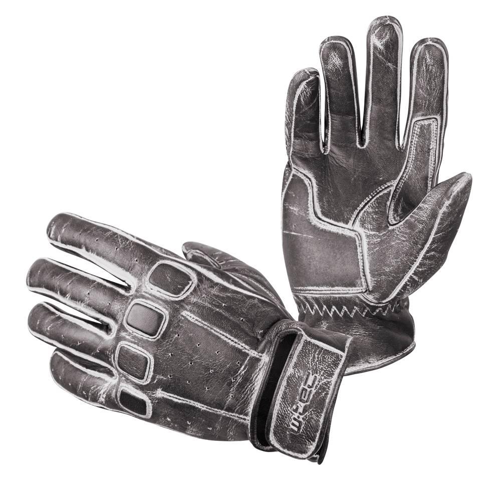 W-Tec Kožené moto rukavice W-TEC Rifteur čierna - S