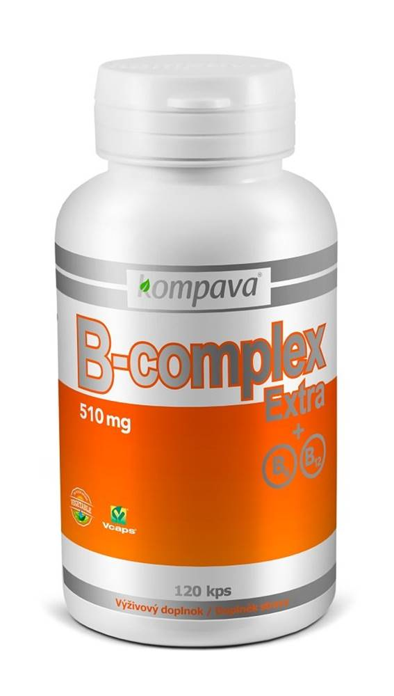 Kompava B-complex Extra+B6 B12 - Kompava 120 kaps.