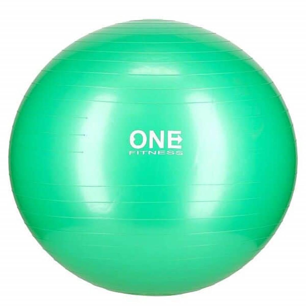 ONE FITNESS Gymnastický míč ONE Fitness Gym Ball 10 zelený, 65 cm