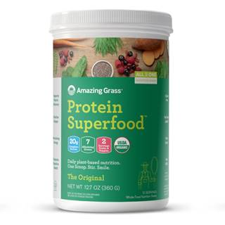 Amazing Grass Protein Superfood 360 g vanilka