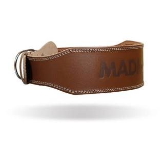 MADMAX Fitness opasok Full Leather Chocolate Brown  XXL