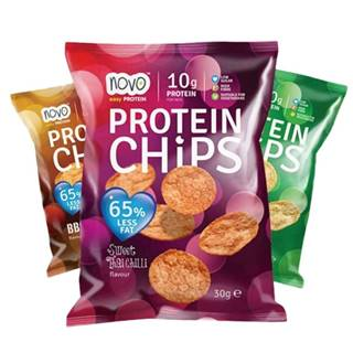 NOVO Protein Chips 30 g sladké thajské chili
