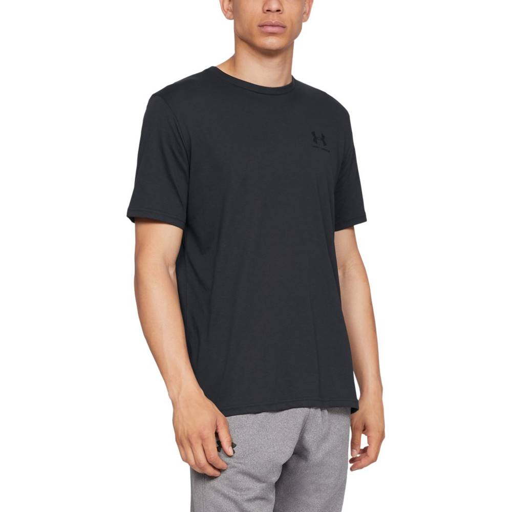 Under Armour Under Armour Sportstyle Left Chest SS Black  S