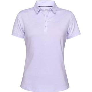 Dámske tričko s golierikom Under Armour Zinger Short Sleeve Polo Salt Purple - M