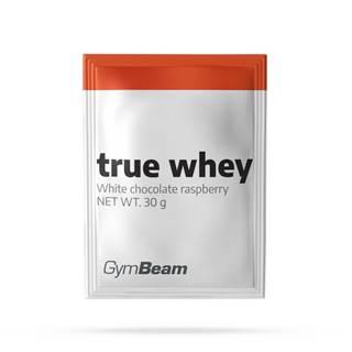 GymBeam Vzorka True Whey 30 g karamel