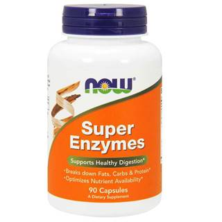 NOW foods Super Enzymes 90 kaps.