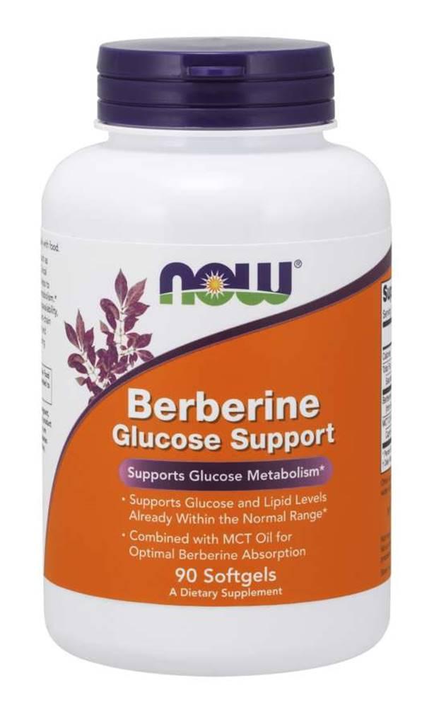 NOW Foods NOW Foods - Berberine Glucose Support 90 kaps.