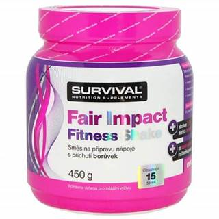 Fair Impact Fitness Shake 450g Čokoláda