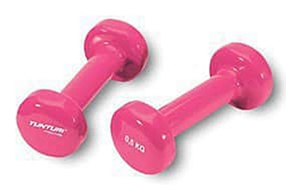Tunturi Činka aerobic 2 x 0,5 kg TUNTURI Vinyl růžová