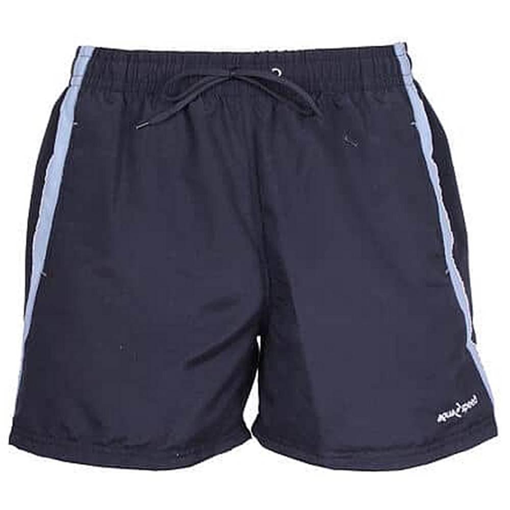 Aqua-Speed Henry pánské plavecké šortky černá-šedá Velikost oblečení: M