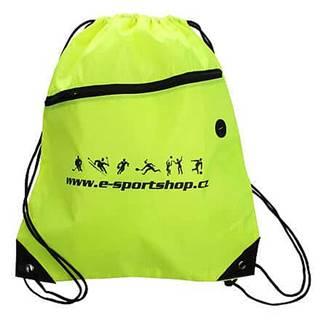 Yoga Bag Logo sportovní taška fluo zelená