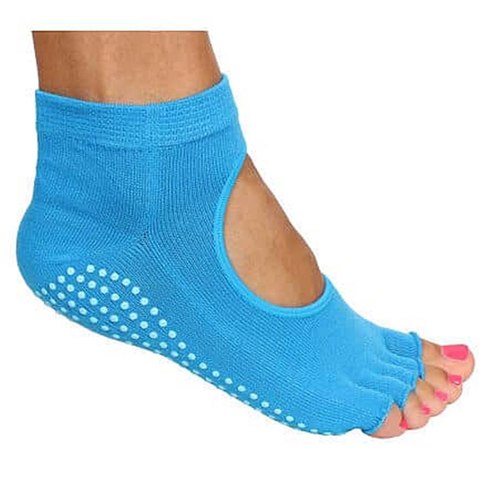 Merco Grippy S2 ponožky na jógu, bezprsté modrá